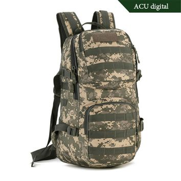 fashion nylon Military backpack 35 l High quality tourism  boy bag notebook Laptop Chest Bag luxury fashion leisure men and wome