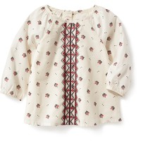 Printed Embroidered Top for Baby | Old Navy