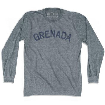 Grenada City Vintage Long Sleeve T-shirt
