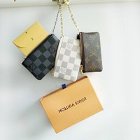 Louis Vuitton Monogram Canvas Key Pouch Key case - purse I-MYJSY-BB