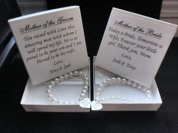Wedding Gifts For 2 Grooms : Mother of the Bride Pearl Strand from AliChristineBridal on Etsy