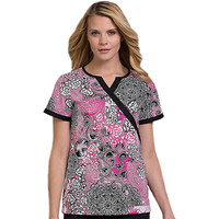 Med Couture Women's Becca Scrub Top