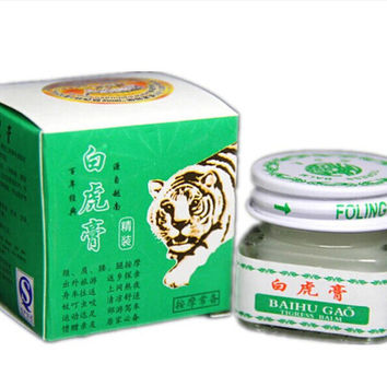 White Tiger Balm Ointment Essential Balm Oil Cream