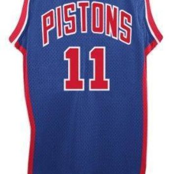 Isiah Thomas Detroit Pistons Adidas Nba Throwback Swingman Jersey Blue