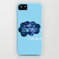 The Fault In Our Stars iPhone & iPod Case by Cassie