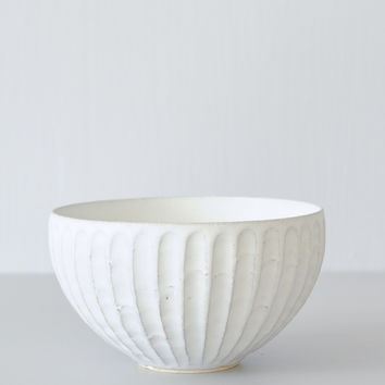 Taira Kuroki Pleated Bowl
