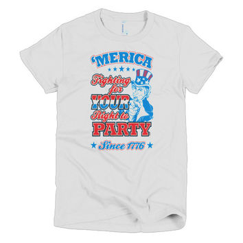 Your Right to Party women's t-shirt