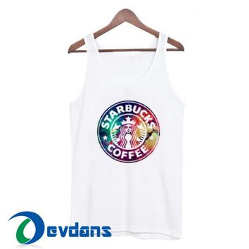 Starbucks Coffee Tank Top Men And Women Size S to 3XL