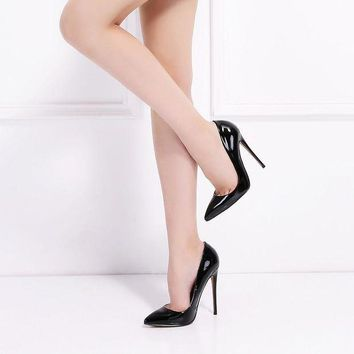 12CM High Heels Shoes Woman High Heels