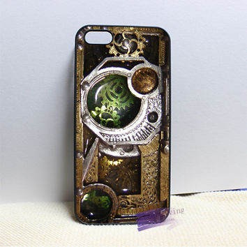 Steampunk Cell Phone Case Cover For iPhone 4, 4S, 5, 5S, 5C, SE, 6, 6S Plus, 7 plus