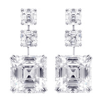 24.81 Carat Asscher-cut Diamonds