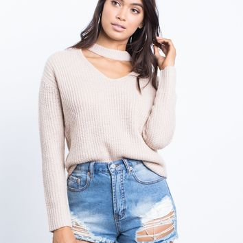 Go-To Choker Sweater