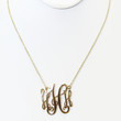 "Gold ""H"" Initial Necklace"