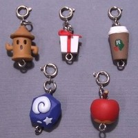 Animal Crossing Mascot Collection Zipper Pulls Figure Set of 5