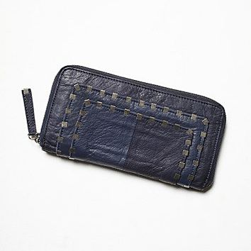 Free People Womens Atticus Leather Wallet