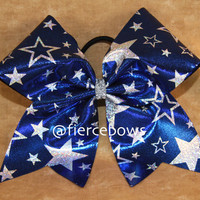 Cheer Bow by MyFierceBows on Etsy