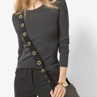 Ribbed Crewneck Sweater | Michael Kors