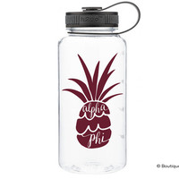 Alpha Phi Pineapple Water Bottle
