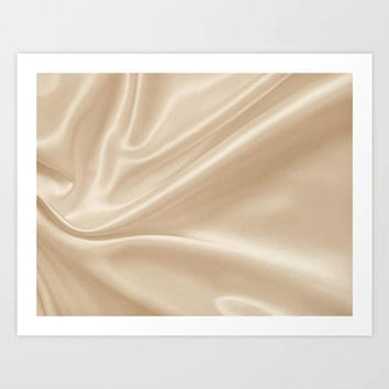 Gold Silk Art Print, Romantic Wall Art, Silk Texture Art Print, Romantic Sexy Art Print, Minimal Gold Wall Art, Elegant Wall Art, Gold Art