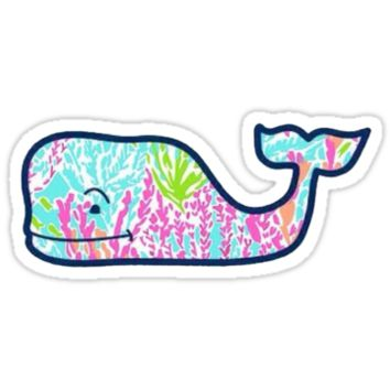 Vineyard Vines Lilly Pulitzer Coral Whale by NatalieGraceW