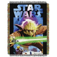 "Star Wars Powerful Ally Licensed 48""x 60"" Woven Tapestry Throw  by The Northwest Company"