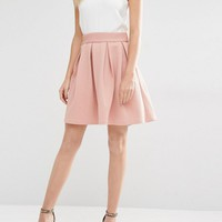Y.A.S | Y.A.S Structured Skater Skirt at ASOS