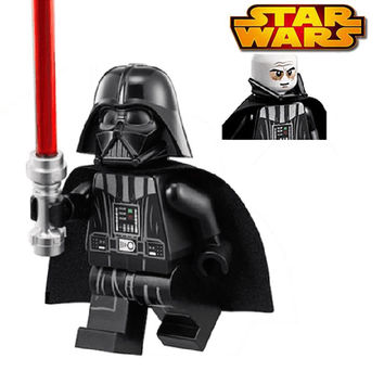 Star Wars Darth Vader With Red Lightsaber Super Heroes Building Blocks Sets Children Classic Models Bricks Toys For Kids Gift