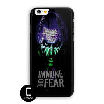 Jeff Hardy Immune To Fear iPhone 6 Case