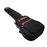 "Good deal 41"" Guitar Backpack Shoulder Straps Pockets 8mm Cotton Padded Gig Bag Case"
