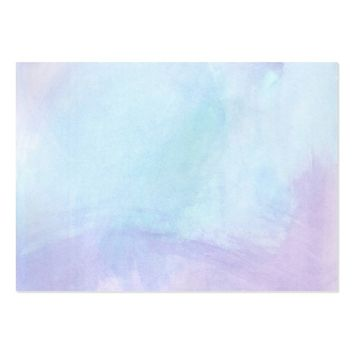 """Splash of Purple"" watercolor Large Business Card"