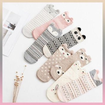 Lovely Women Socks High Quality Cotton Fashion Style Socks Autumn Winter Warm