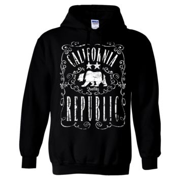 California Republic JD Whiskey Sweatshirt Hoodie