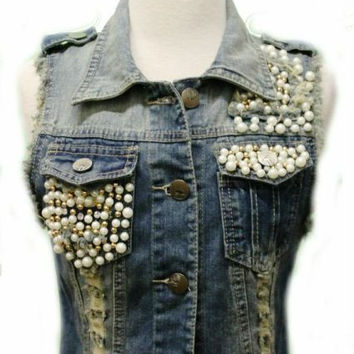 Punk Princess Jean Vest