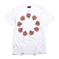 9 Year Roses T-Shirt White