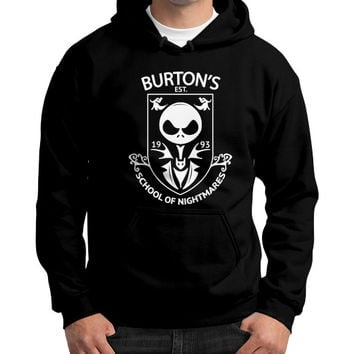 Love nightmare before christmas Gildan Hoodie (on man)