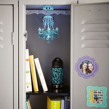 Locker chandelier crystals from pbteen locker style locker chandelier crystals aloadofball