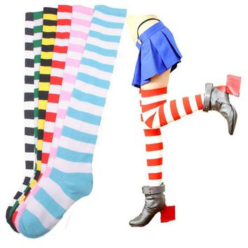 Halloween Striped Socks - 6 Colors