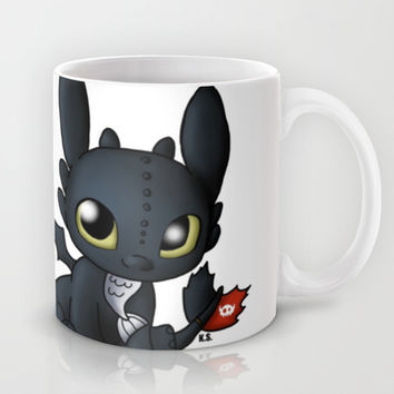 Chibi Toothless Mug by Katie Simpson