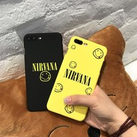 Phone Cases for IPhone 6 6s 7 Plus Case Black Yellow Cartoon Funny