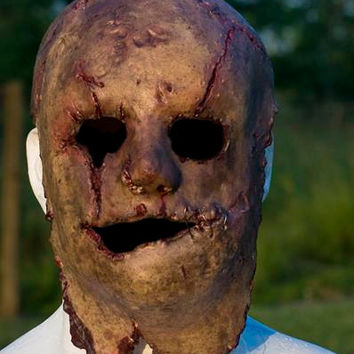 Latex Mask - Creepy Halloween Mask - Scary Latex Mask
