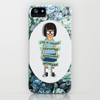 TINA iPhone & iPod Case by Sara Eshak