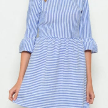 Seabreeze Stripes Dress