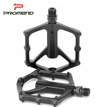 PROMEND Mountain Road Bike Pedal Lightweight Alloy Frame 3 Sealed Bearing Pedals for BMX Cr-Mo Steel Axle Pedal for Bicycle