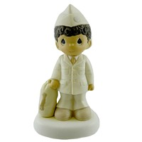 Precious Moments Bless Those Who Serve Their Country Figurine