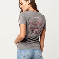 VANS Dual Palm Womens Tee | Graphic Tees