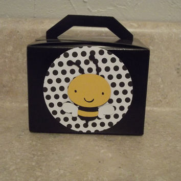 Bumble Bee Party Favor Boxes Set Of 8 By Armywife711 On Etsy