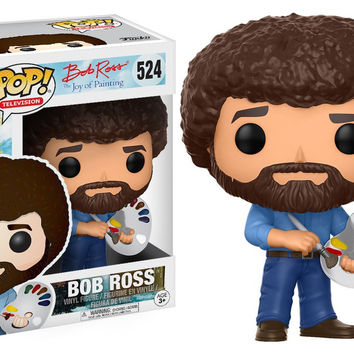 POP! TELEVISION 524: JOY OF PAINTING - BOB ROSS