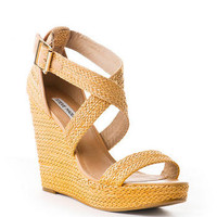 Steve Madden Haywire Woven Wedge                       - Francescas
