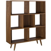 Transmit Bookcase Walnut EEI-2529-WAL