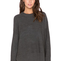 Knot Sisters Neilson Sweater in Charcoal